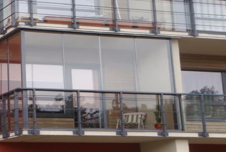 Системы остекления балконов